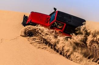 讓時間的痕跡來見證一場沙漠越野之旅