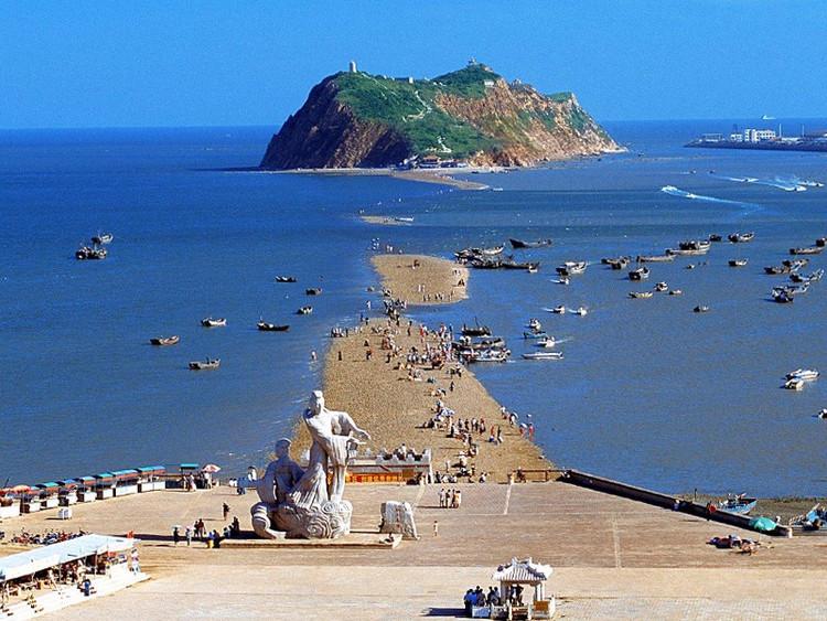 【红海滩】中秋国庆·海上观明月·盘锦红海滩·锦州笔架山·九门口长