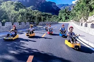 【山地滑車】讓你一秒成為追風少年の打卡網紅梨樹溝-7公里金海湖登山棧道1日游