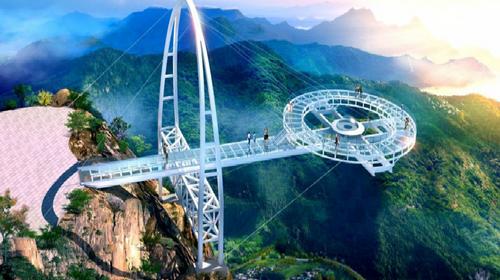 【石林峡】挑战高空UFO观景台1日游!