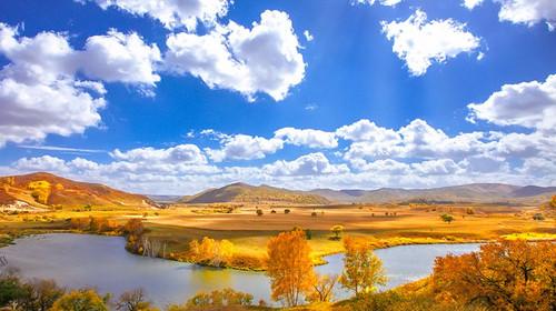 【乌兰布统.达里湖】国庆·坝上草原·乌兰布统·公主湖·将军泡子·影视基地·达里湖4日游!