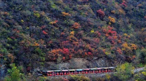 【双龙峡】10.11日·京西小九寨·人间天堂·金秋赏红叶1日游!