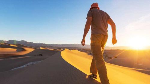 【库布齐波浪谷】五一假期·库布齐沙漠·红石峡·波浪谷·宝塔山·壶口瀑布·无夜车4日游!