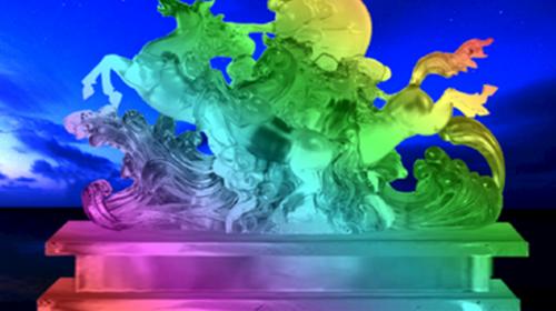 【中国马镇冰火节】丰宁坝上草原·马镇度假区·赏冰雕·放烟花·亲子世界·舞马乐园·满韵骑风奇幻秀·寒冬中的冰火奇缘!