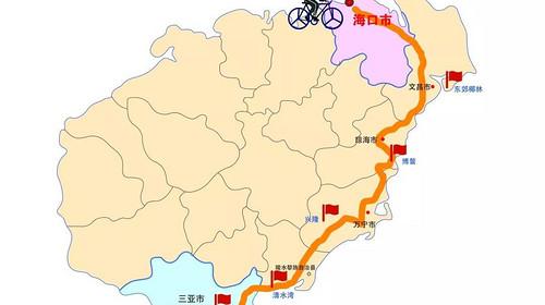【海南骑行】海南东线4+2轻骑行·畅玩海口·三亚·西岛·6天5晚·体会冬日的温暖如夏!
