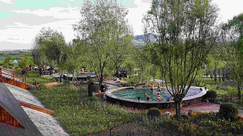 内蒙古·赤峰·玉龙沙湖集装箱温泉酒店·超值特价·赠送门票+温泉价值960元 !