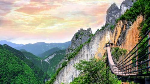 【纯享重庆】山城重庆·天生三桥+长江索道+磁器口+李子坝+羊角古镇·户外纯玩五日游!
